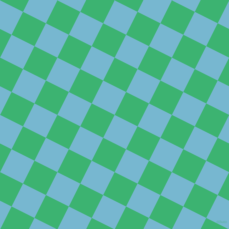 63/153 degree angle diagonal checkered chequered squares checker pattern checkers background, 87 pixel squares size, , Seagull and Medium Sea Green checkers chequered checkered squares seamless tileable