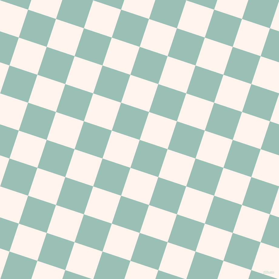 72/162 degree angle diagonal checkered chequered squares checker pattern checkers background, 97 pixel squares size, , Shadow Green and Seashell checkers chequered checkered squares seamless tileable