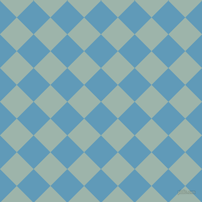 45/135 degree angle diagonal checkered chequered squares checker pattern checkers background, 48 pixel squares size, , Shakespeare and Skeptic checkers chequered checkered squares seamless tileable