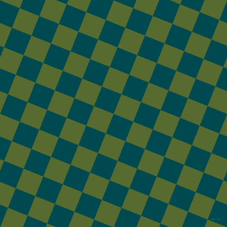68/158 degree angle diagonal checkered chequered squares checker pattern checkers background, 74 pixel square size, , Sherpa Blue and Dark Olive Green checkers chequered checkered squares seamless tileable