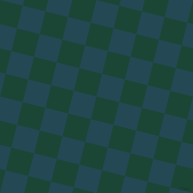 76/166 degree angle diagonal checkered chequered squares checker pattern checkers background, 81 pixel squares size, , Sherwood Green and Teal Blue checkers chequered checkered squares seamless tileable