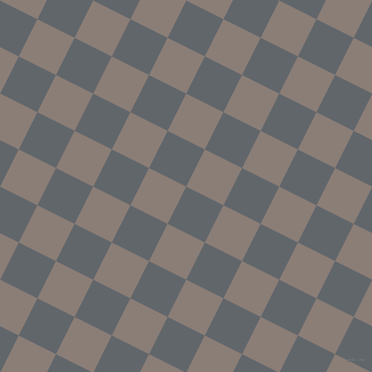 63/153 degree angle diagonal checkered chequered squares checker pattern checkers background, 84 pixel squares size, , Shuttle Grey and Hurricane checkers chequered checkered squares seamless tileable