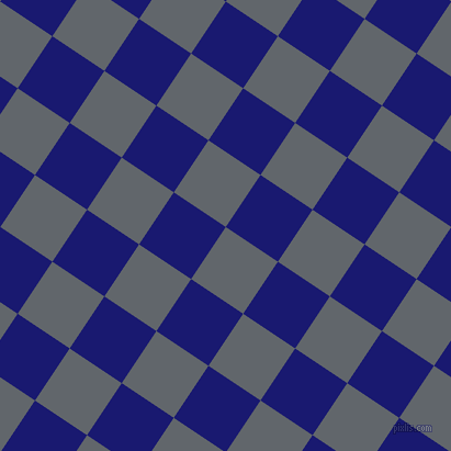 56/146 degree angle diagonal checkered chequered squares checker pattern checkers background, 57 pixel squares size, , Shuttle Grey and Midnight Blue checkers chequered checkered squares seamless tileable