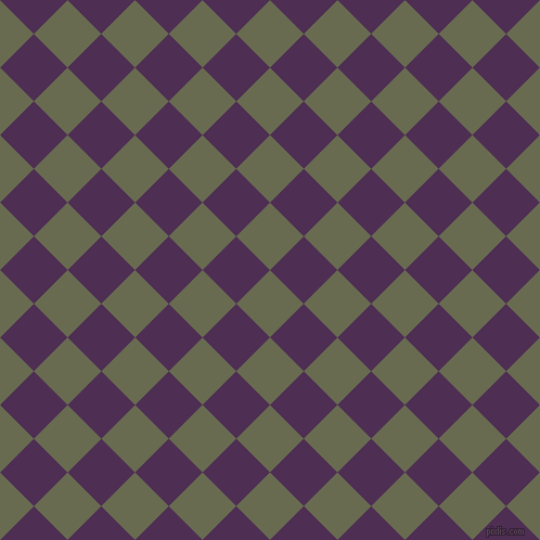 45/135 degree angle diagonal checkered chequered squares checker pattern checkers background, 44 pixel square size, , Siam and Hot Purple checkers chequered checkered squares seamless tileable