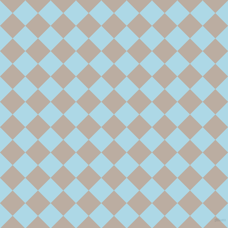 45/135 degree angle diagonal checkered chequered squares checker pattern checkers background, 58 pixel square size, , Silk and Light Blue checkers chequered checkered squares seamless tileable