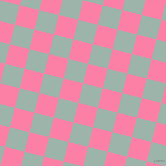 76/166 degree angle diagonal checkered chequered squares checker pattern checkers background, 66 pixel squares size, , Skeptic and Tickle Me Pink checkers chequered checkered squares seamless tileable