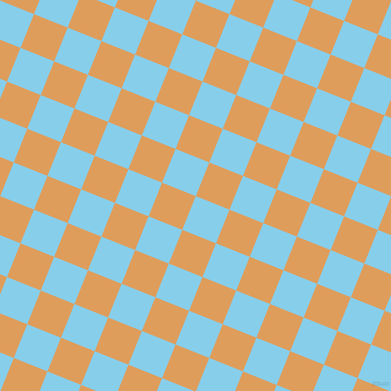 68/158 degree angle diagonal checkered chequered squares checker pattern checkers background, 74 pixel squares size, , Sky Blue and Porsche checkers chequered checkered squares seamless tileable