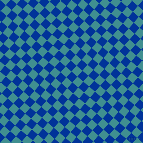 49/139 degree angle diagonal checkered chequered squares checker pattern checkers background, 25 pixel squares size, , Smalt and Blue Chill checkers chequered checkered squares seamless tileable