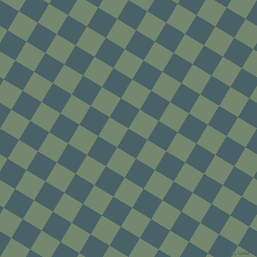 59/149 degree angle diagonal checkered chequered squares checker pattern checkers background, 45 pixel square size, , Smalt Blue and Xanadu checkers chequered checkered squares seamless tileable