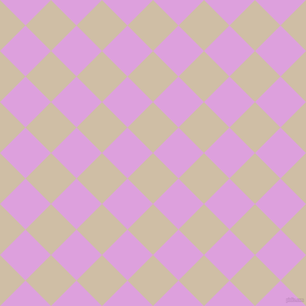 45/135 degree angle diagonal checkered chequered squares checker pattern checkers background, 72 pixel square size, , Soft Amber and Plum checkers chequered checkered squares seamless tileable