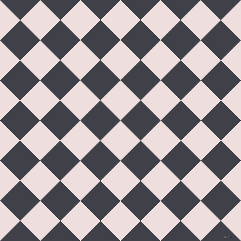 45/135 degree angle diagonal checkered chequered squares checker pattern checkers background, 94 pixel squares size, , Soft Peach and Payne