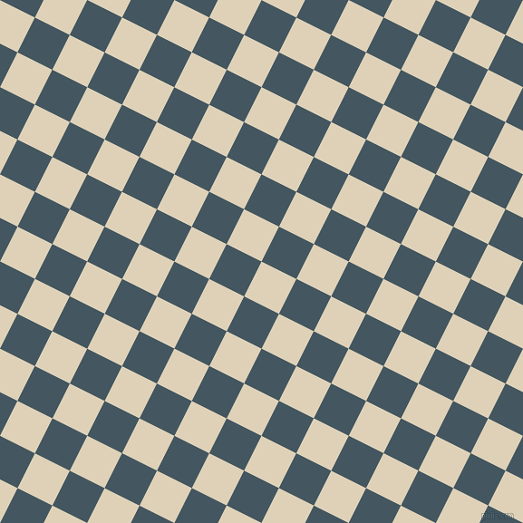 63/153 degree angle diagonal checkered chequered squares checker pattern checkers background, 43 pixel square size, , Spanish White and San Juan checkers chequered checkered squares seamless tileable