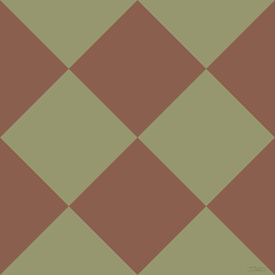 45/135 degree angle diagonal checkered chequered squares checker pattern checkers background, 194 pixel square size, , Spicy Mix and Malachite Green checkers chequered checkered squares seamless tileable