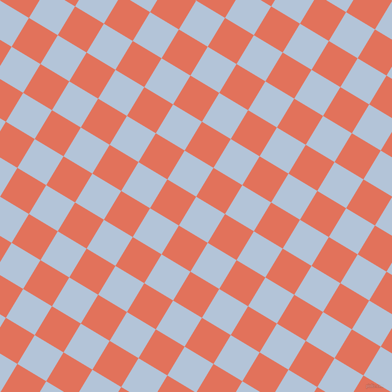 59/149 degree angle diagonal checkered chequered squares checker pattern checkers background, 67 pixel squares size, , Spindle and Terra Cotta checkers chequered checkered squares seamless tileable