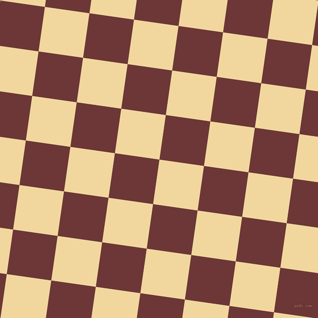82/172 degree angle diagonal checkered chequered squares checker pattern checkers background, 88 pixel square size, , Splash and Sanguine Brown checkers chequered checkered squares seamless tileable