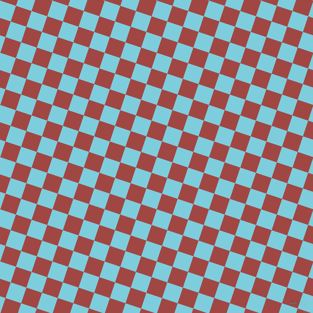 72/162 degree angle diagonal checkered chequered squares checker pattern checkers background, 33 pixel square size, , Spray and Roof Terracotta checkers chequered checkered squares seamless tileable
