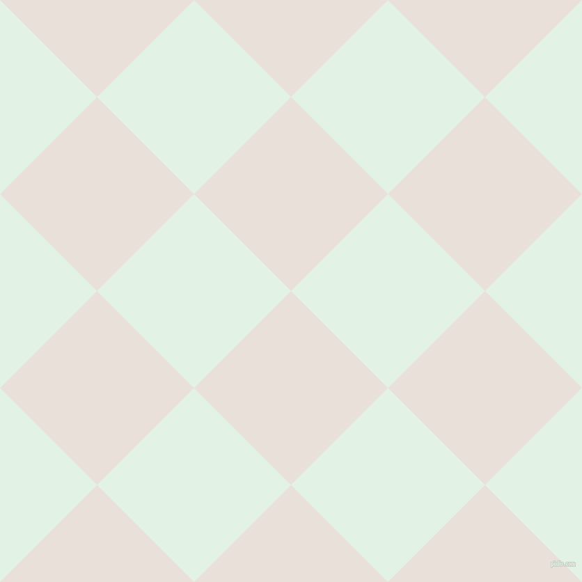 45/135 degree angle diagonal checkered chequered squares checker pattern checkers background, 197 pixel squares size, , Spring Wood and Frosted Mint checkers chequered checkered squares seamless tileable