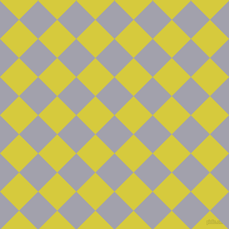 45/135 degree angle diagonal checkered chequered squares checker pattern checkers background, 54 pixel square size, , Spun Pearl and Wattle checkers chequered checkered squares seamless tileable