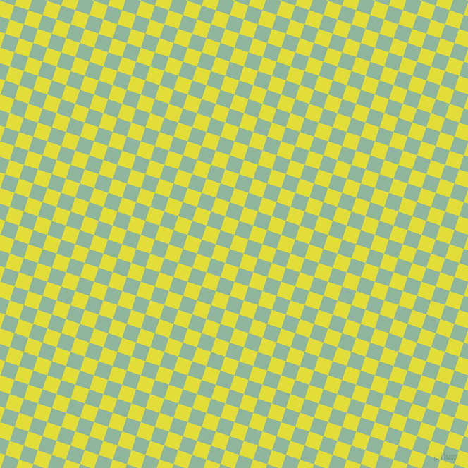 72/162 degree angle diagonal checkered chequered squares checker pattern checkers background, 21 pixel square size, , Starship and Summer Green checkers chequered checkered squares seamless tileable