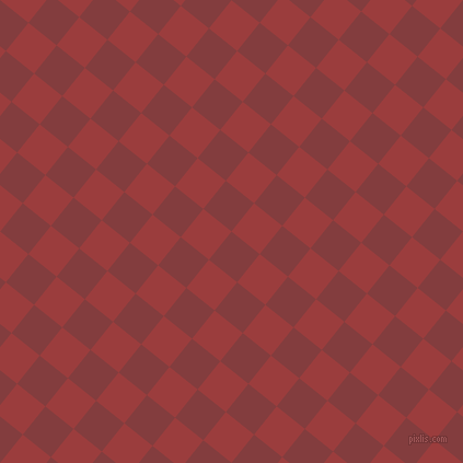 51/141 degree angle diagonal checkered chequered squares checker pattern checkers background, 33 pixel square size, , Stiletto and Mexican Red checkers chequered checkered squares seamless tileable