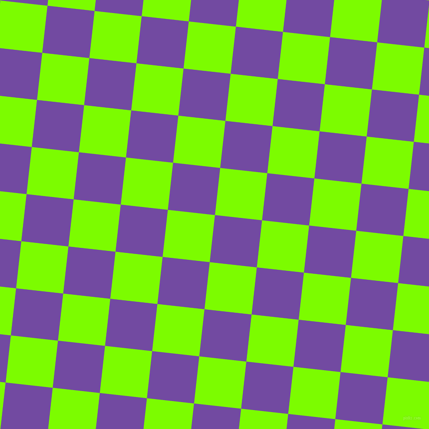 84/174 degree angle diagonal checkered chequered squares checker pattern checkers background, 95 pixel square size, , Studio and Lawn Green checkers chequered checkered squares seamless tileable