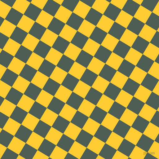 59/149 degree angle diagonal checkered chequered squares checker pattern checkers background, 44 pixel square size, , Sunglow and Feldgrau checkers chequered checkered squares seamless tileable