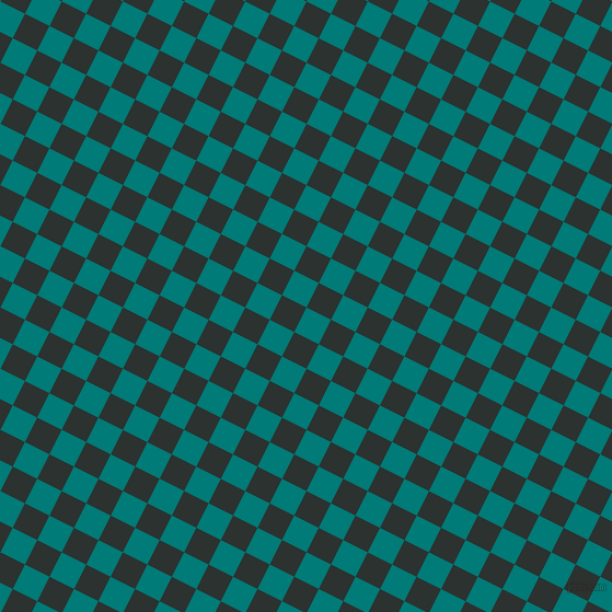 63/153 degree angle diagonal checkered chequered squares checker pattern checkers background, 25 pixel squares size, , Surfie Green and Woodsmoke checkers chequered checkered squares seamless tileable