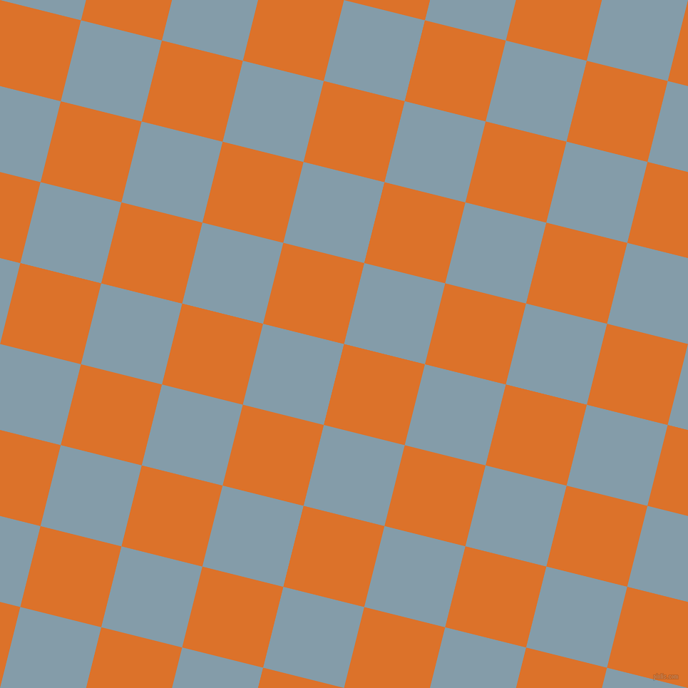 76/166 degree angle diagonal checkered chequered squares checker pattern checkers background, 117 pixel square size, , Tahiti Gold and Bali Hai checkers chequered checkered squares seamless tileable