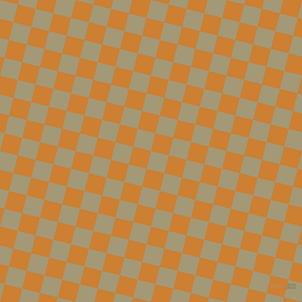 76/166 degree angle diagonal checkered chequered squares checker pattern checkers background, 26 pixel square size, , Tallow and Bronze checkers chequered checkered squares seamless tileable