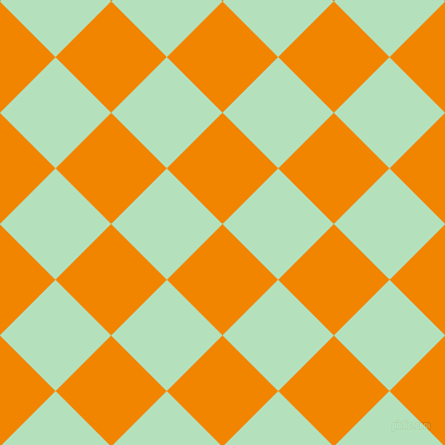 45/135 degree angle diagonal checkered chequered squares checker pattern checkers background, 72 pixel squares size, , Tangerine and Fringy Flower checkers chequered checkered squares seamless tileable