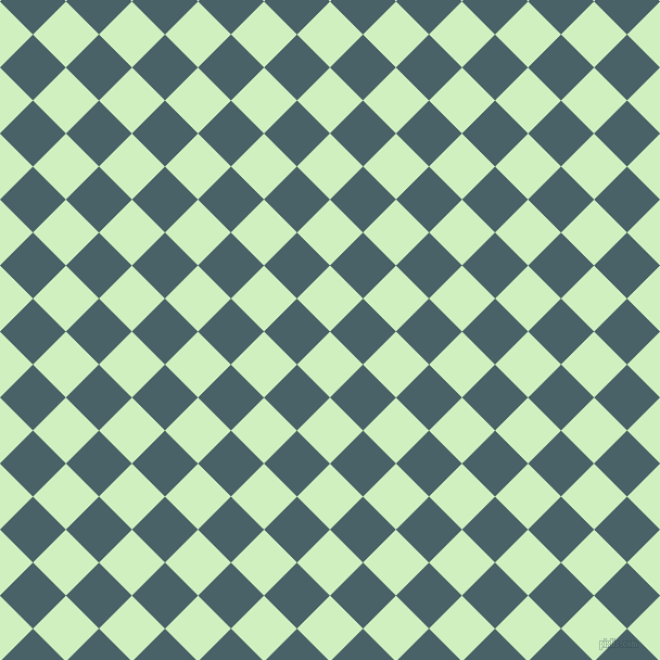 45/135 degree angle diagonal checkered chequered squares checker pattern checkers background, 43 pixel squares size, , Tea Green and Smalt Blue checkers chequered checkered squares seamless tileable