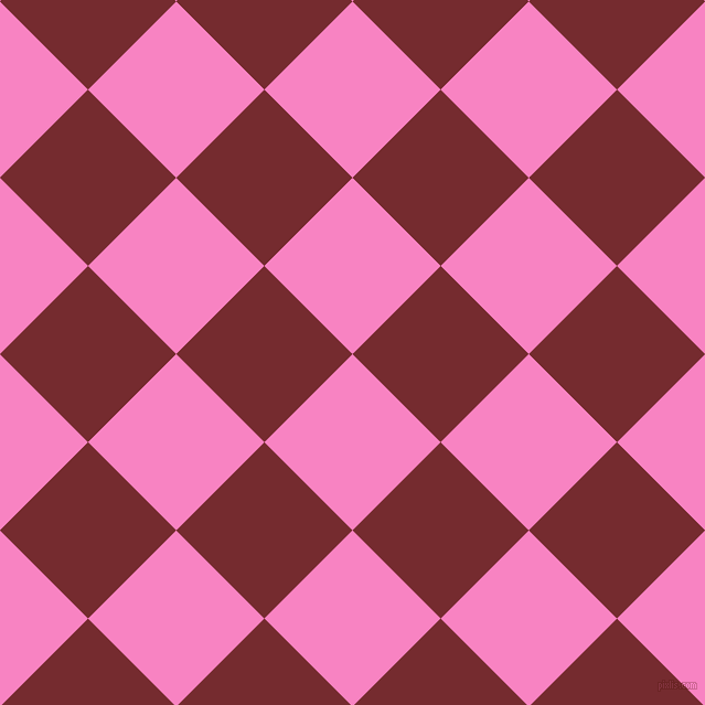 45/135 degree angle diagonal checkered chequered squares checker pattern checkers background, 113 pixel square size, Tea Rose and Tamarillo checkers chequered checkered squares seamless tileable