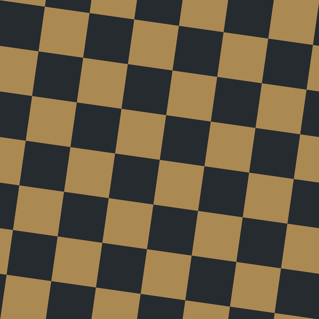 82/172 degree angle diagonal checkered chequered squares checker pattern checkers background, 146 pixel squares size, , Teak and Blue Charcoal checkers chequered checkered squares seamless tileable