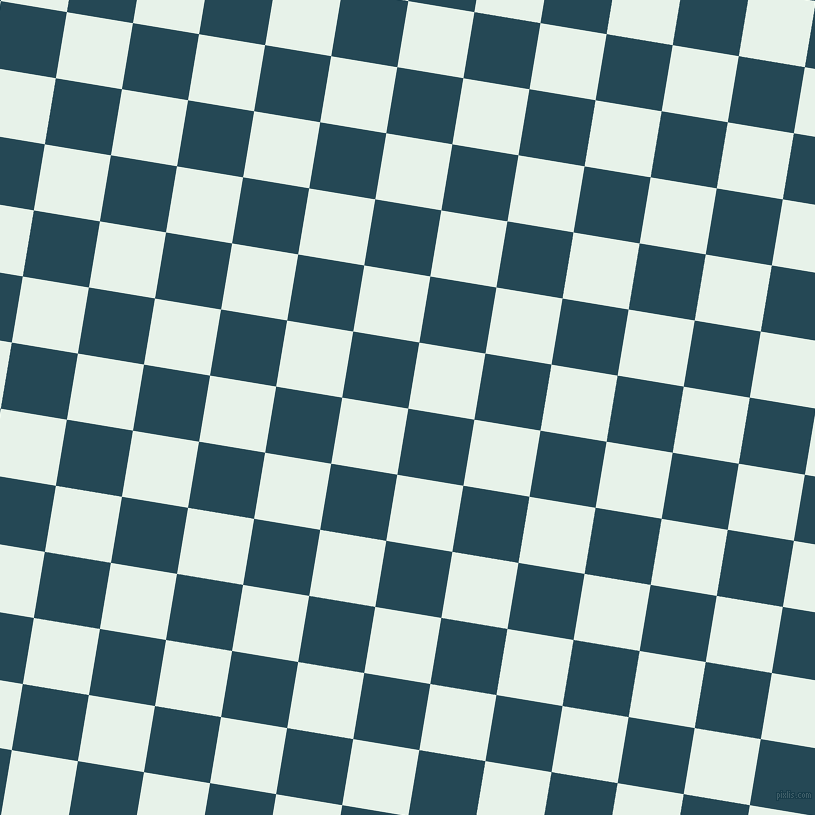 81/171 degree angle diagonal checkered chequered squares checker pattern checkers background, 67 pixel squares size, , Teal Blue and Dew checkers chequered checkered squares seamless tileable