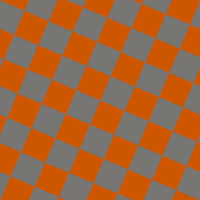 67/157 degree angle diagonal checkered chequered squares checker pattern checkers background, 88 pixel square size, Tenne Tawny and Dove Grey checkers chequered checkered squares seamless tileable