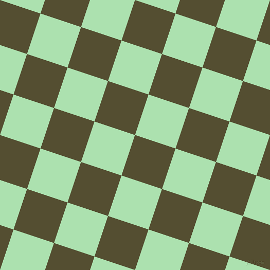 72/162 degree angle diagonal checkered chequered squares checker pattern checkers background, 83 pixel square size, , Thatch Green and Celadon checkers chequered checkered squares seamless tileable