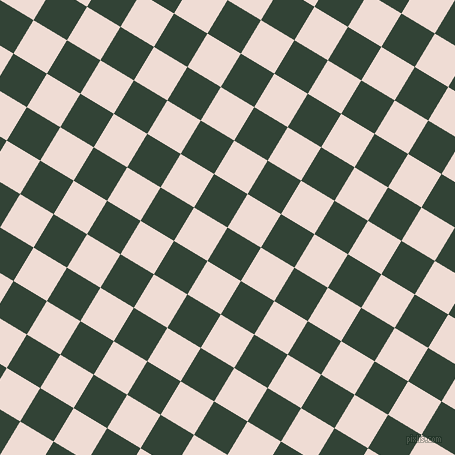 59/149 degree angle diagonal checkered chequered squares checker pattern checkers background, 39 pixel square size, , Timber Green and Pot Pourri checkers chequered checkered squares seamless tileable
