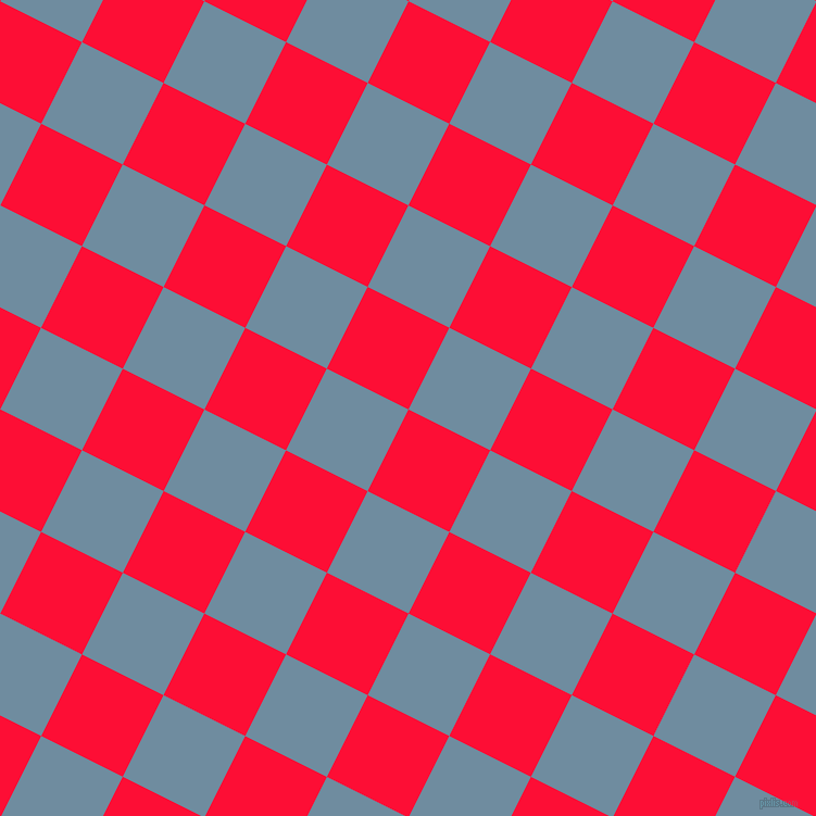 63/153 degree angle diagonal checkered chequered squares checker pattern checkers background, 84 pixel square size, , Torch Red and Bermuda Grey checkers chequered checkered squares seamless tileable