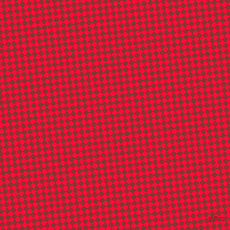 51/141 degree angle diagonal checkered chequered squares checker pattern checkers background, 9 pixel square size, , Torch Red and Old Brick checkers chequered checkered squares seamless tileable