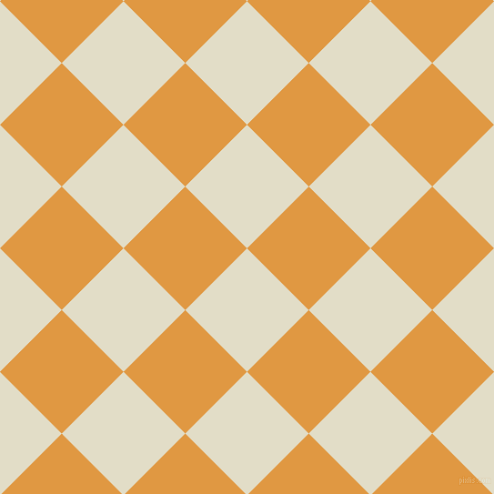 45/135 degree angle diagonal checkered chequered squares checker pattern checkers background, 96 pixel square size, , Travertine and Fire Bush checkers chequered checkered squares seamless tileable