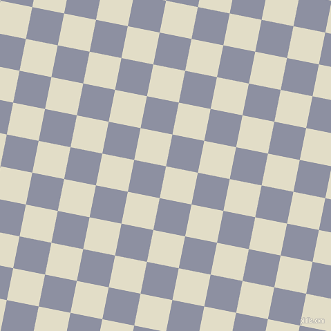 79/169 degree angle diagonal checkered chequered squares checker pattern checkers background, 47 pixel square size, Travertine and Manatee checkers chequered checkered squares seamless tileable