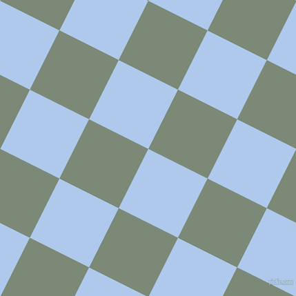 63/153 degree angle diagonal checkered chequered squares checker pattern checkers background, 96 pixel squares size, Tropical Blue and Spanish Green checkers chequered checkered squares seamless tileable