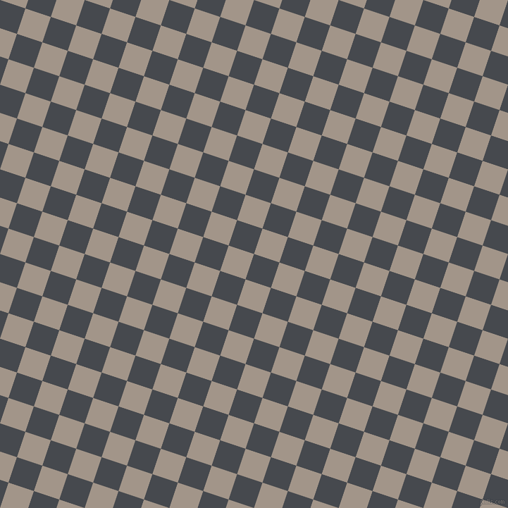 72/162 degree angle diagonal checkered chequered squares checker pattern checkers background, 38 pixel square size, Tuna and Zorba checkers chequered checkered squares seamless tileable