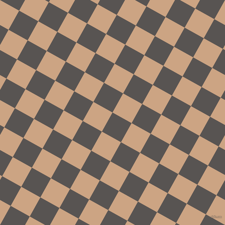 61/151 degree angle diagonal checkered chequered squares checker pattern checkers background, 70 pixel square size, , Tundora and Cameo checkers chequered checkered squares seamless tileable