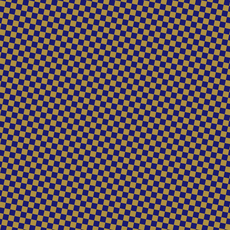 79/169 degree angle diagonal checkered chequered squares checker pattern checkers background, 19 pixel square size, , Turmeric and Midnight Blue checkers chequered checkered squares seamless tileable