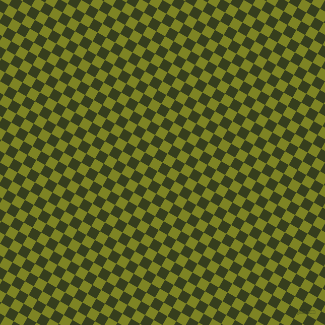 60/150 degree angle diagonal checkered chequered squares checker pattern checkers background, 20 pixel square size, , Turtle Green and Trendy Green checkers chequered checkered squares seamless tileable