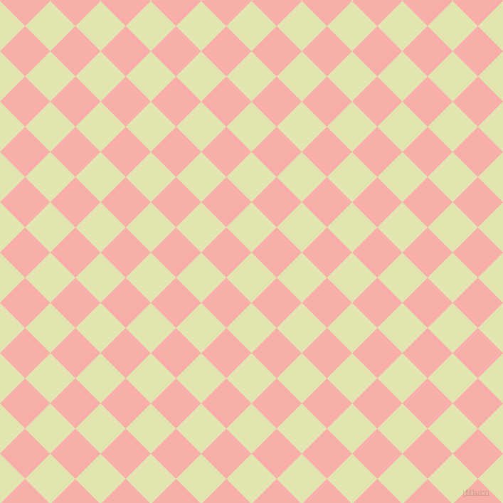 45/135 degree angle diagonal checkered chequered squares checker pattern checkers background, 50 pixel square size, , Tusk and Sundown checkers chequered checkered squares seamless tileable