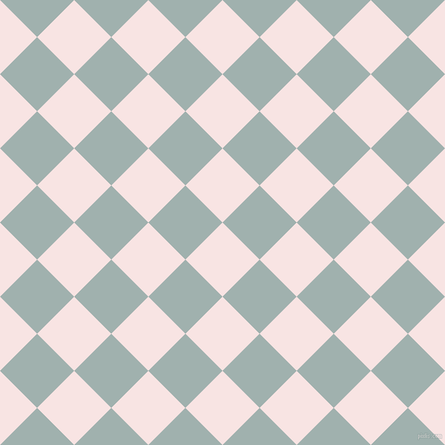 45/135 degree angle diagonal checkered chequered squares checker pattern checkers background, 76 pixel square size, , Tutu and Conch checkers chequered checkered squares seamless tileable