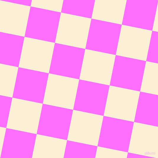 79/169 degree angle diagonal checkered chequered squares checker pattern checkers background, 105 pixel squares size, Ultra Pink and Half Dutch White checkers chequered checkered squares seamless tileable