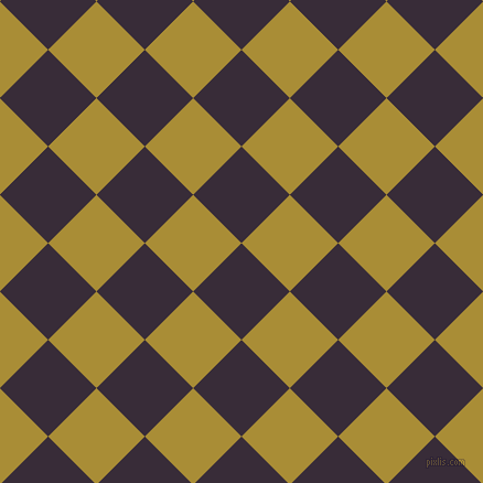 45/135 degree angle diagonal checkered chequered squares checker pattern checkers background, 62 pixel square size, , Valentino and Reef Gold checkers chequered checkered squares seamless tileable